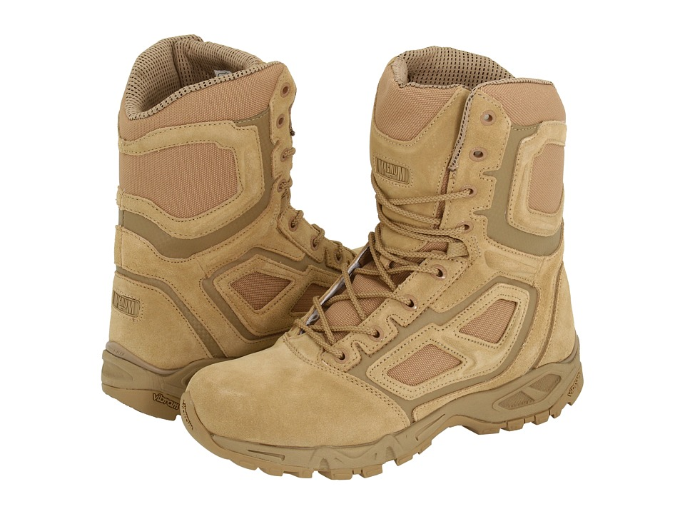 Magnum - Elite Spider 8.0 (Wheat) Men's Work Boots