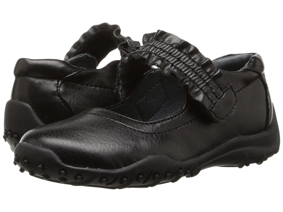 Nina Kids - Runalong (Toddler/Little Kid/Big Kid) (Black) Girl's Shoes