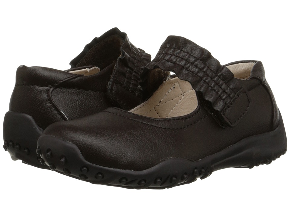 Nina Kids - Runalong (Toddler/Little Kid/Big Kid) (Brown) Girl's Shoes