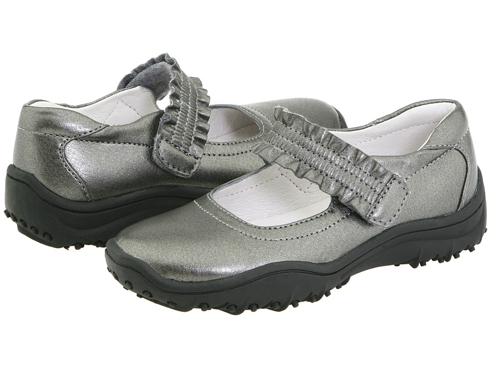 Nina Kids - Runalong (Toddler/Little Kid/Big Kid) (Pewter) Girl's Shoes