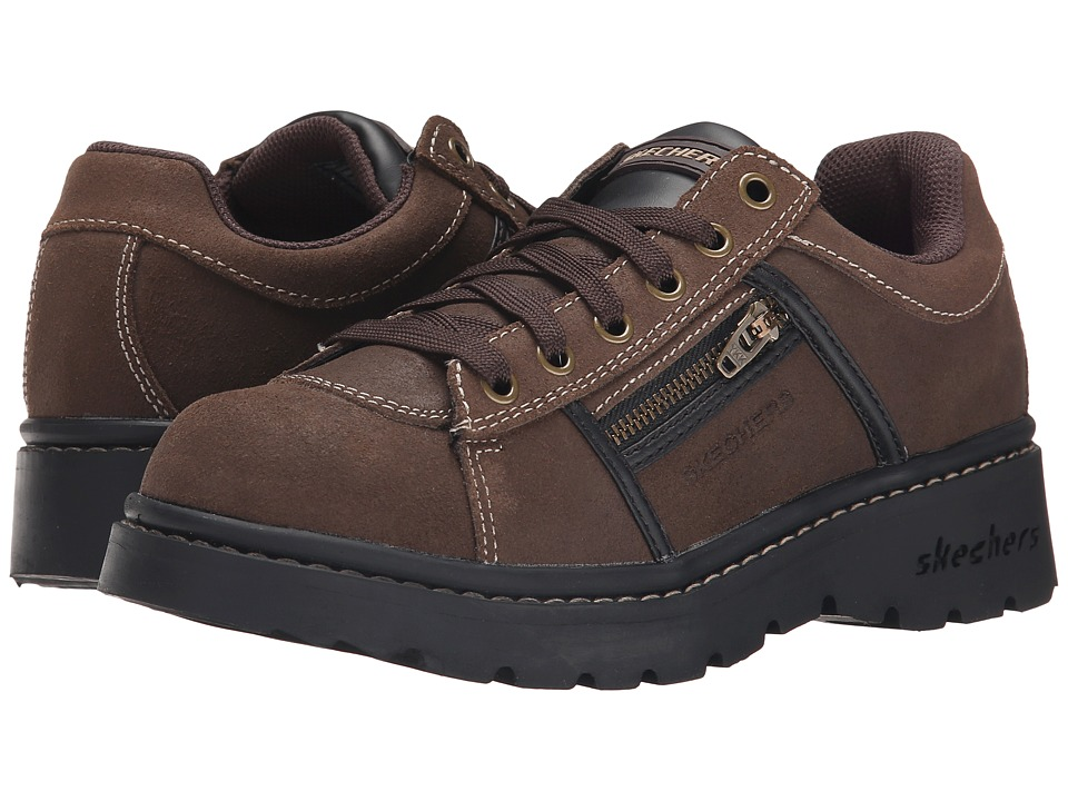 SKECHERS - Tredds - Interactive (Chocolate Scuff) Women