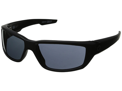 Spy Optic - Dirty Mo (Matte Black W/Signature/Grey Lens) Sport Sunglasses