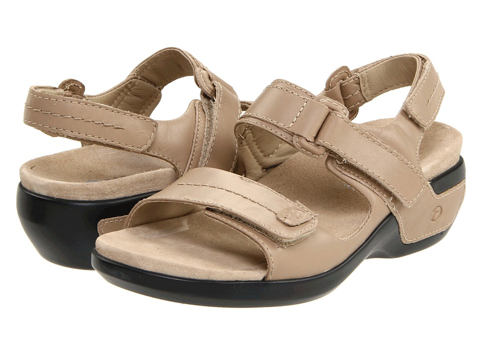 Aravon - Katy (Taupe Leather) Women's Sandals