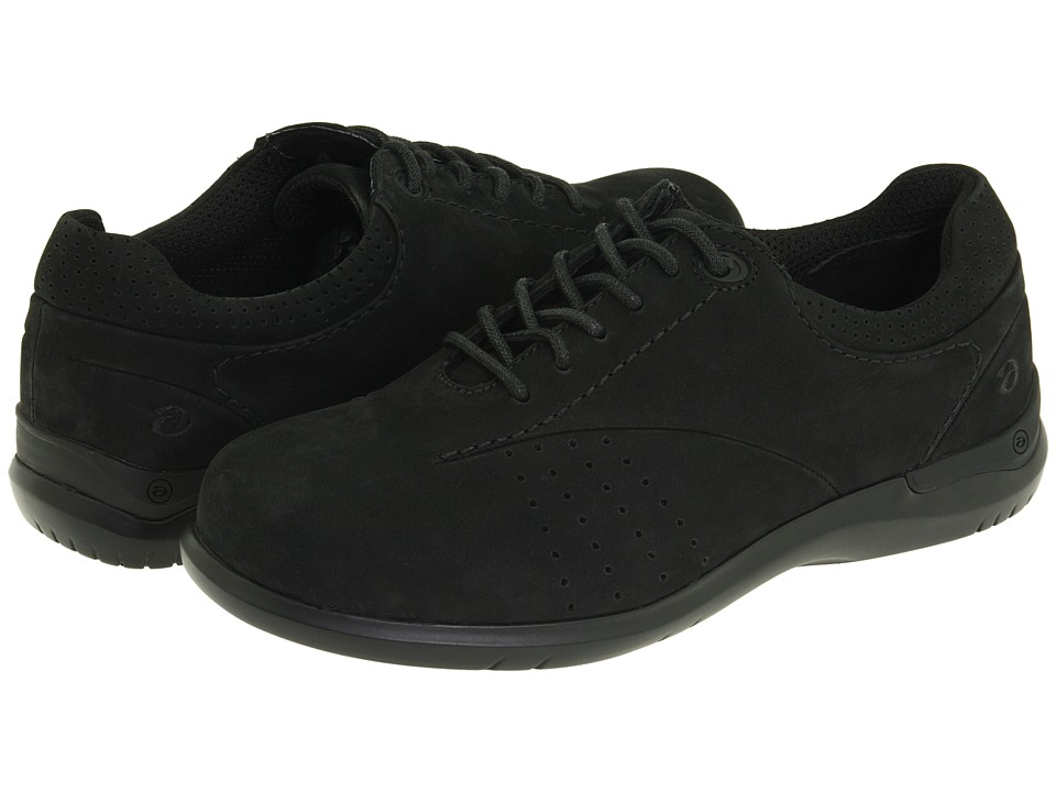 Aravon - Farren (Black Nubuck) Women's Lace up casual Shoes