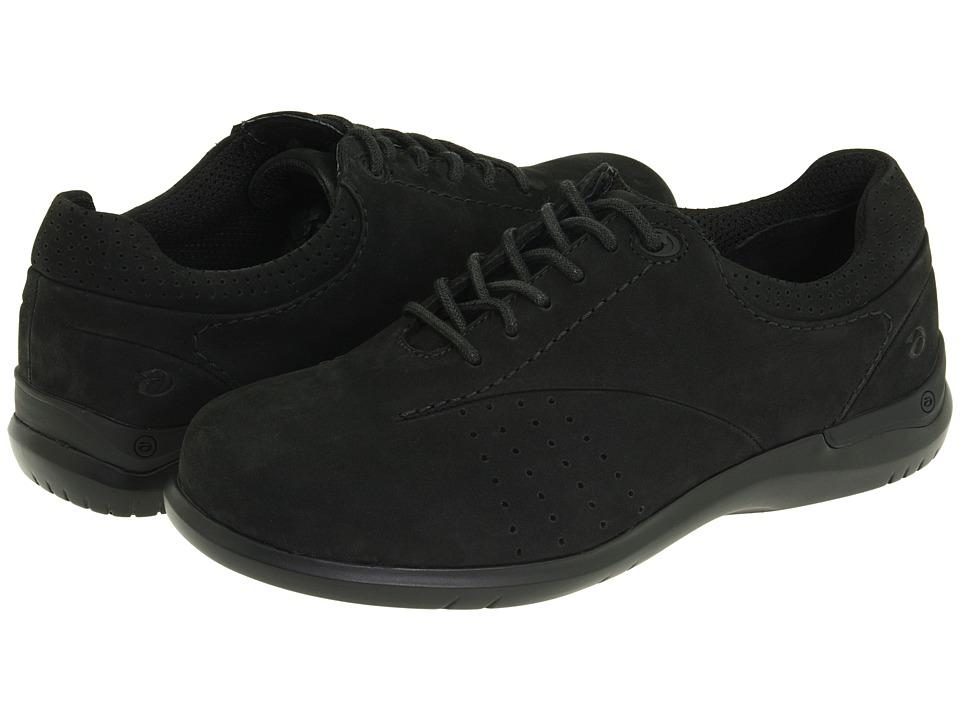 Aravon - Farren (Black Nubuck) Women's Lace up casual Shoes