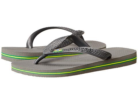 Havaianas - Brazil Flip Flops (Grey) Women