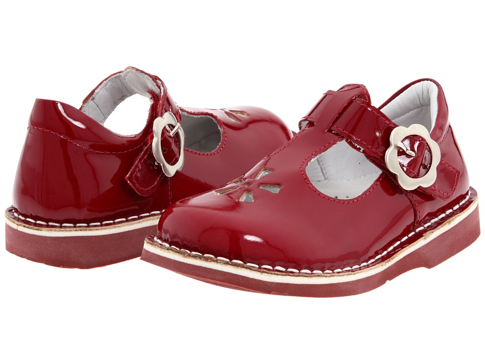Kid Express - Molly (Toddler/Little Kid/Big Kid) (Cherry Patent) Girls Shoes
