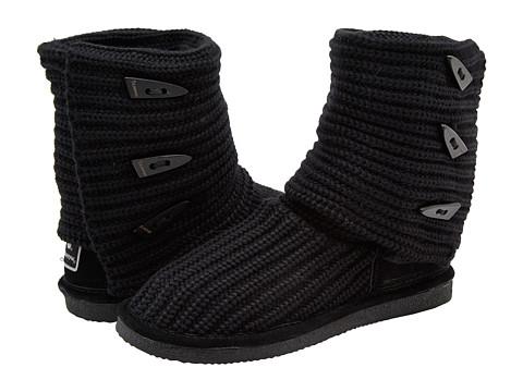 UPC 795240012523 product image for Bearpaw Women's Knit Fashion Boot Black  - ATTIX CORPORATION | upcitemdb