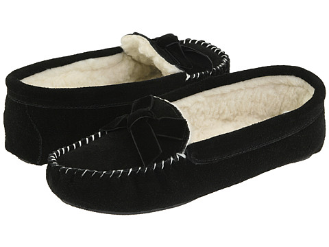 Patricia Green - Haley (Black Suede) Women's Slippers