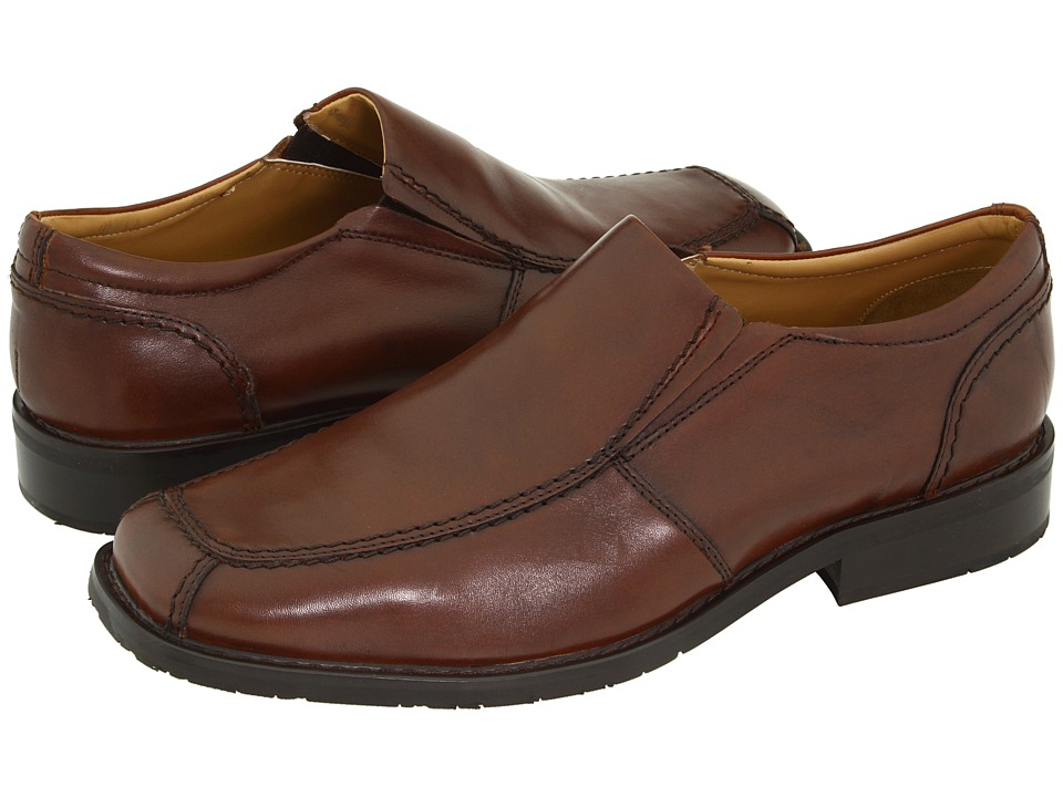 Nunn Bush - Kern (Brown) Men's Slip on Shoes