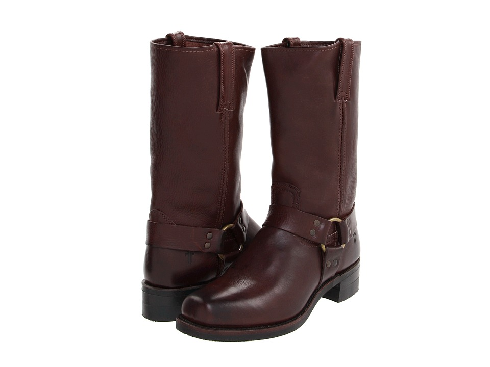 Frye - Harness 12R (Dark Brown) Cowboy Boots