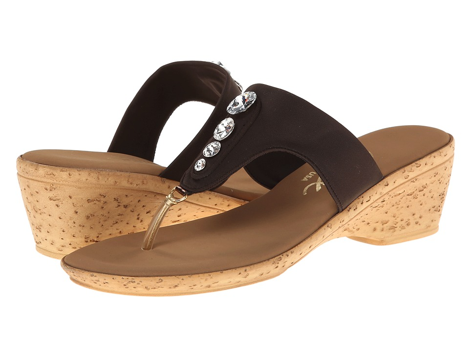 Onex - Morgan (Chocolate) Women's Sandals