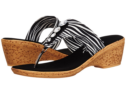Onex - Morgan (White Zebra) Women's Sandals