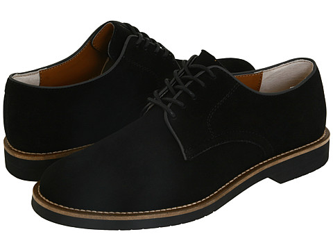 Bass - Buckingham (Black Suede) Men's Lace up casual Shoes