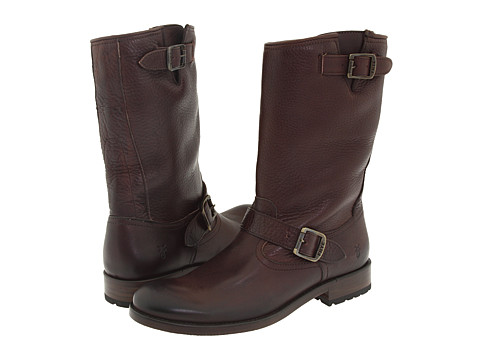 Frye - Jackson Engineer (Dark Brown) Cowboy Boots
