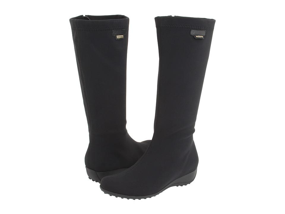 Mephisto - Linda (Black Lycra) Women's Zip Boots