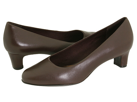 Trotters - Janna (Mocha Soft Kid) Women's Slip-on Dress Shoes