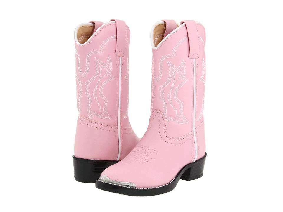 Durango Kids - BT858 (Toddler/Little Kid) (Pink) Cowboy Boots