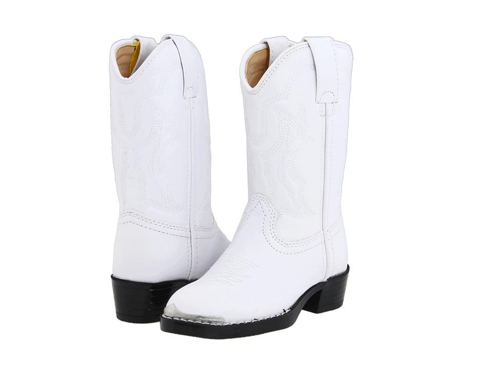 Durango Kids BT851 (Toddler/Little Kid) (White) Cowboy Boots