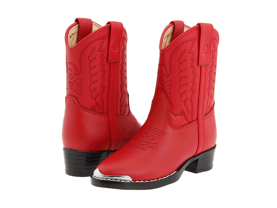 Durango Kids - BT755 (Toddler) (Red) Cowboy Boots