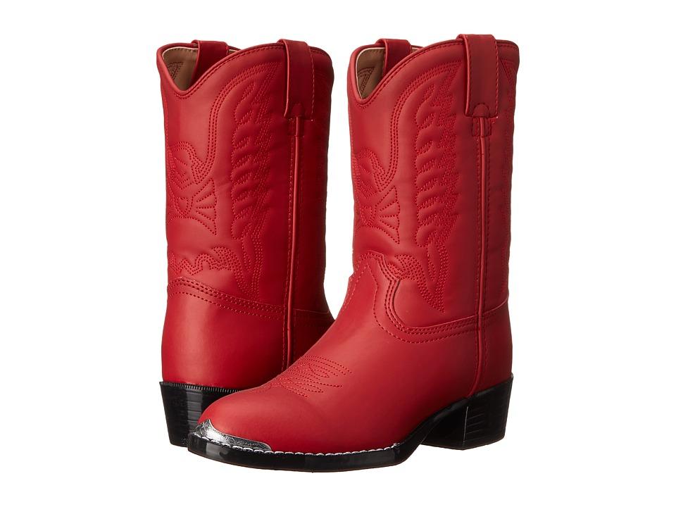 Durango Kids BT855 (Toddler/Little Kid) (Red) Cowboy Boots