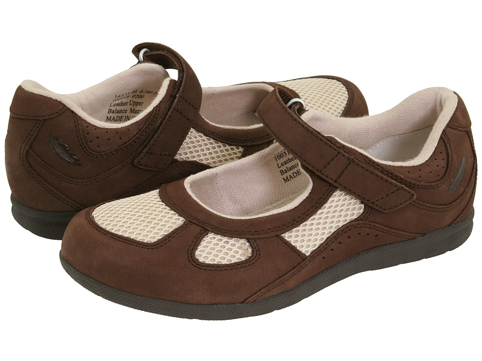 Drew - Delite (Brown/Bone Combo) Women's Maryjane Shoes