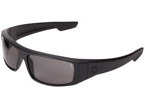 Spy Optic - Logan Polarized (Matte Black/Grey Polarized Lens) Sport Sunglasses