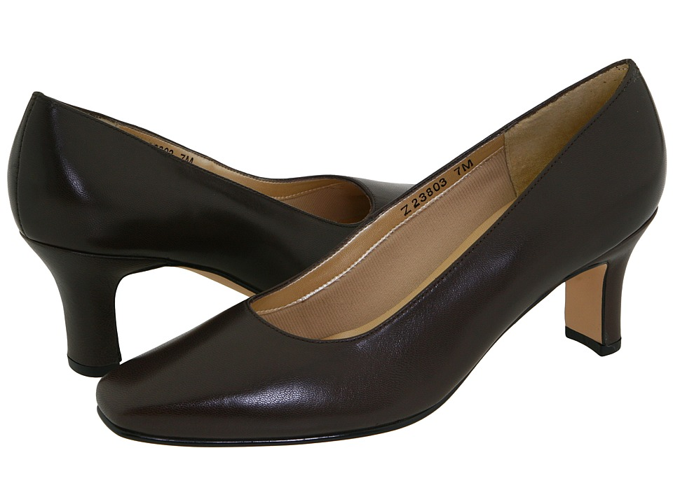 Fitzwell - Vincent Pump (Dark Brown Kid) High Heels