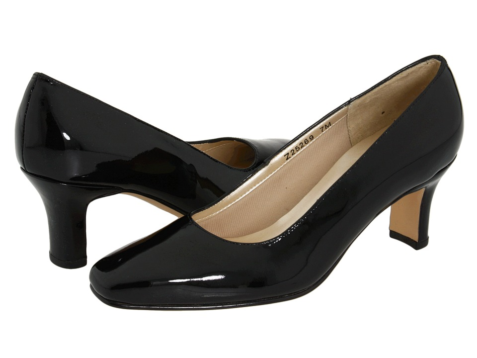Fitzwell Vincent Pump (Black Patent Leather) High Heels