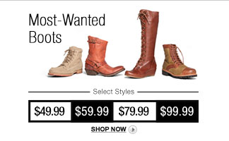 Most Wanted Boots