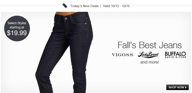 Лучший осень джинсы